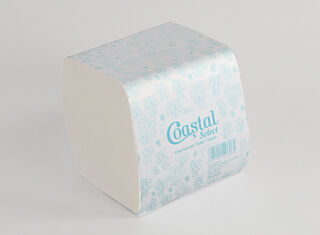 Interleaf Toilet Tissue 2ply - Coastal brand