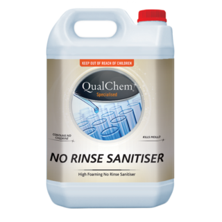 No-Rinse Sanitiser - Qualchem