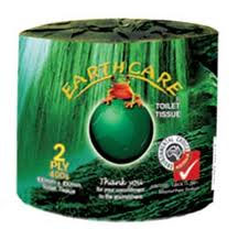 Toilet Rolls 2ply 400sheet - Earthcare brand