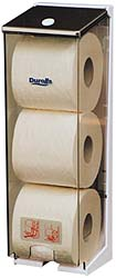 Dispenser Toilet Roll 3 roll stacker - Coastal