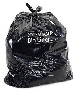 240L LD wheelie bin liner Degradable - EcoPack