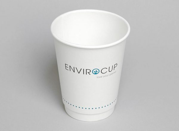 Hot Cup - 8oz Uni-Cup Double Wall - Coastal