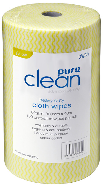Cleaning Wipes Antibacterial Yellow - PureEn