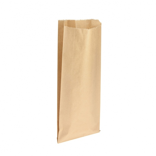 Bottle Bag Brown Double (165 x 60 x 395mm) - Uni-Pak