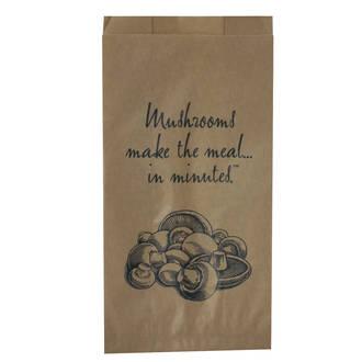 Mushroom Bags Large Printed - UniPak