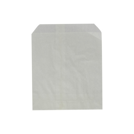 Flat White Confectionery Paper Bag - 255x295 - No. 7 - UniPak