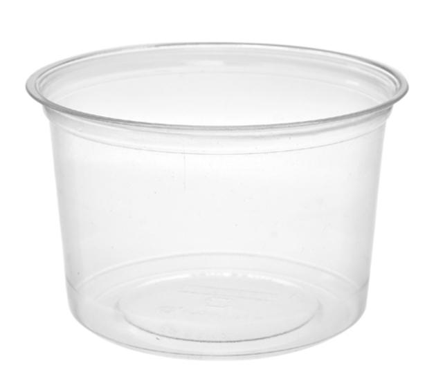 Deli Container Round 16oz Vegware - Pack or Carton