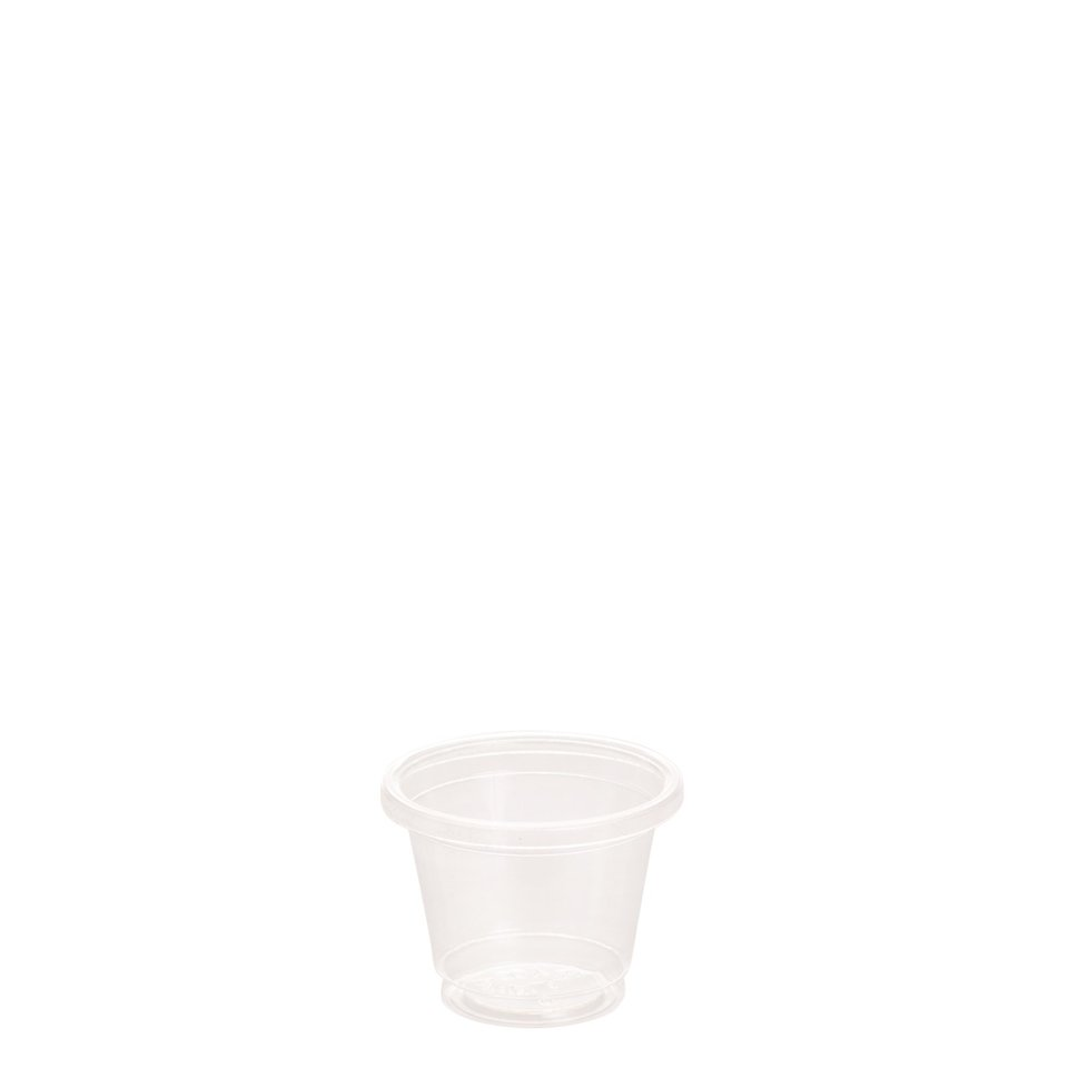 30ml Clear Cold Cup PLA - Ecoware