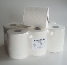 Paper Towel Centrefeed 2ply - Coastal