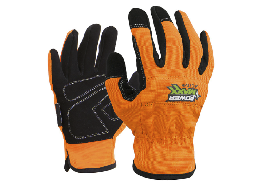 Powermaxx Active Synthetic Mechanics Gloves, X-Large - Esko