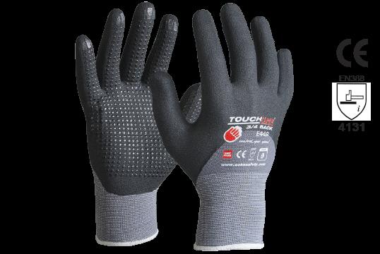 TOUCHLINE™ '3/4Back', Nitrile 3/4 dip Foam coat w/micro dots, Size 11 - Esko