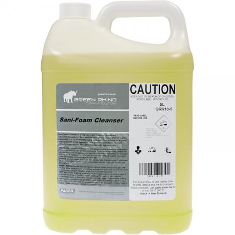 Sani-Foam Cleanser - Green Rhino
