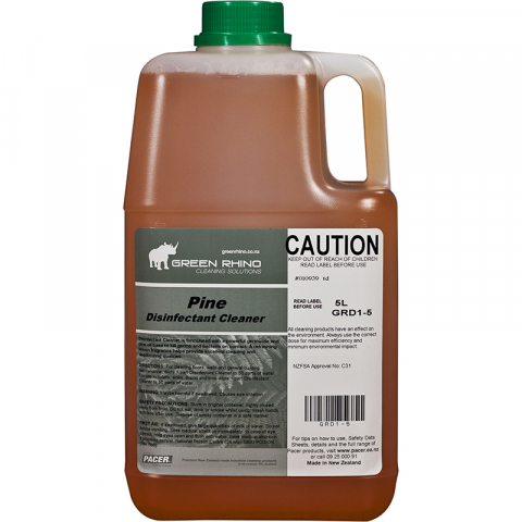 Disinfectant Pine 5Litres - Green Rhino