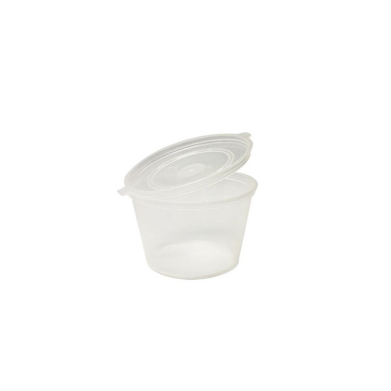 Round Container with Lid 100ml PP TCC100 - UniChef