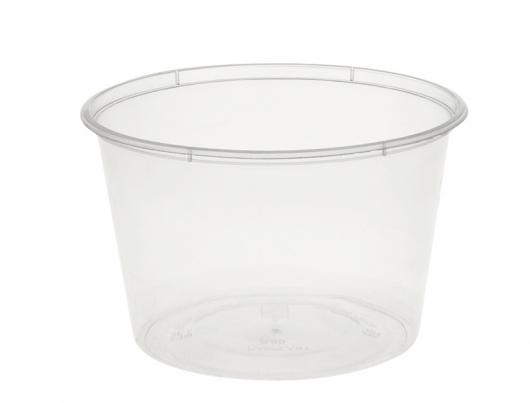 Round Container 500ml/20oz PP - Uni-Chef