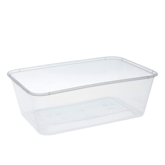 Rectangle Container 750ml/30oz PP - Uni-Chef