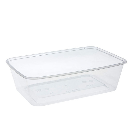 Rectangle Container 650ml/25oz PP- Uni-Chef