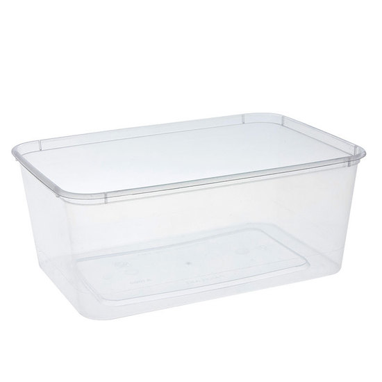 Rectangle Container 1000ml/40oz PP - Uni-Chef