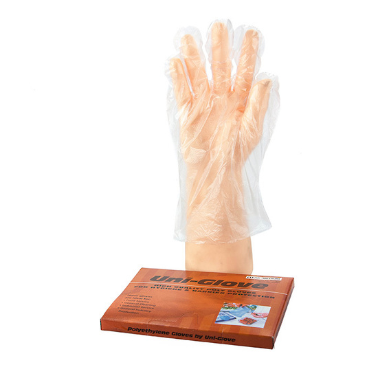 Polyethylene PE Clear Gloves - Bastion