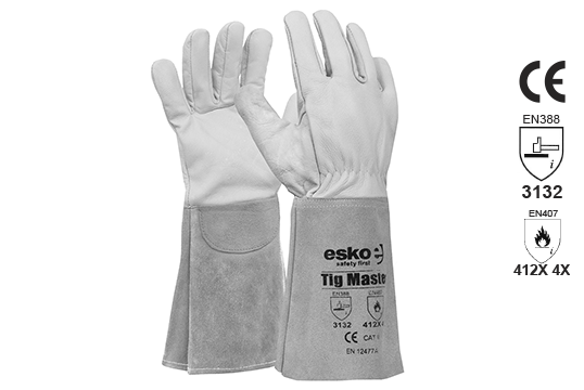 TIG MASTER' TIG Welders glove 39cm length - Esko