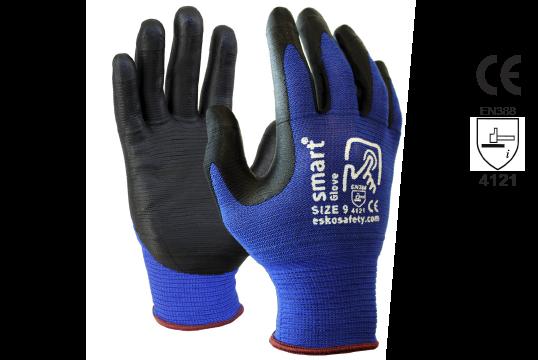 Touchscreen Safety Glove, Size 8 - Esko Smart Glove