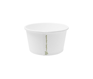 Hot Container White 12oz 430ml - Vegware - Pack or Carton