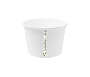 Hot Container White 16oz 560ml - Vegware - Carton 500