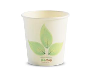 4oz Coffee Cups Leaf Single Wall - BioPak