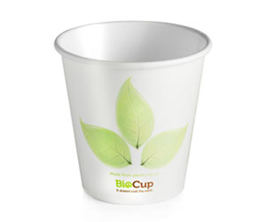 6oz Coffee Cups Leaf (80mm) Single Wall - BioPak