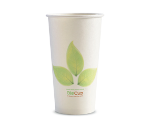 16oz Coffee Cups Leaf (90mm) Single Wall - BioPak