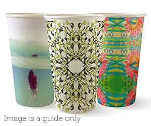 16oz Coffee Cups Art Series (90mm) Single Wall - BioPak