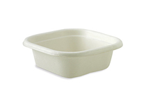 Takeaway Container Base White 280ml BioCane - BioPak
