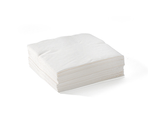 Cocktail Napkin 2 Ply White - BioNapkin