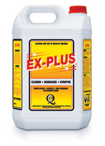 Cleaner, Degreaser, Stripper - Ex-Plus