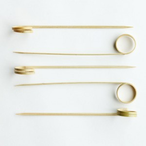 Side Twist Bamboo Skewer 12cm - Epicure