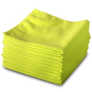 Microfibre Cloth Pack 10 Yellow