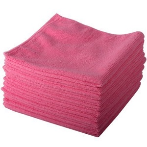 Microfibre Cloth Pack 10 Pink