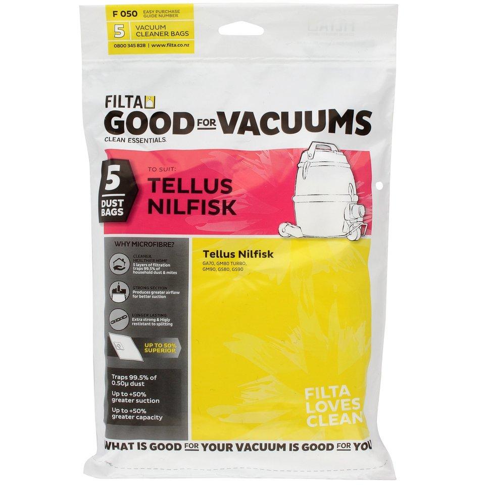 Vacuum Cleaner Bags TELLUS GM80 GM90 F050