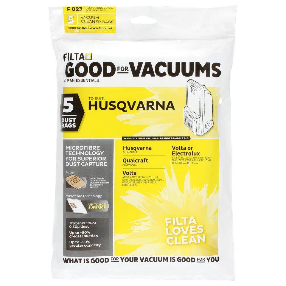Vacuum Cleaner Bags HUSQVARNA QUALCRAFT F023