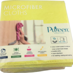 Microfibre Cloth 40x40cm Yellow - PureEn