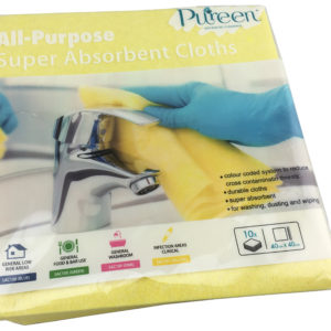 Super Absorbent Cloths Yellow - PureEn