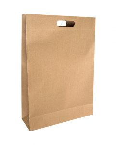 Punched Handle Paper Bags Large