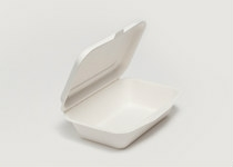 Clam Tray Sugar Cane 17x12cm - Vegware - Pack & Carton