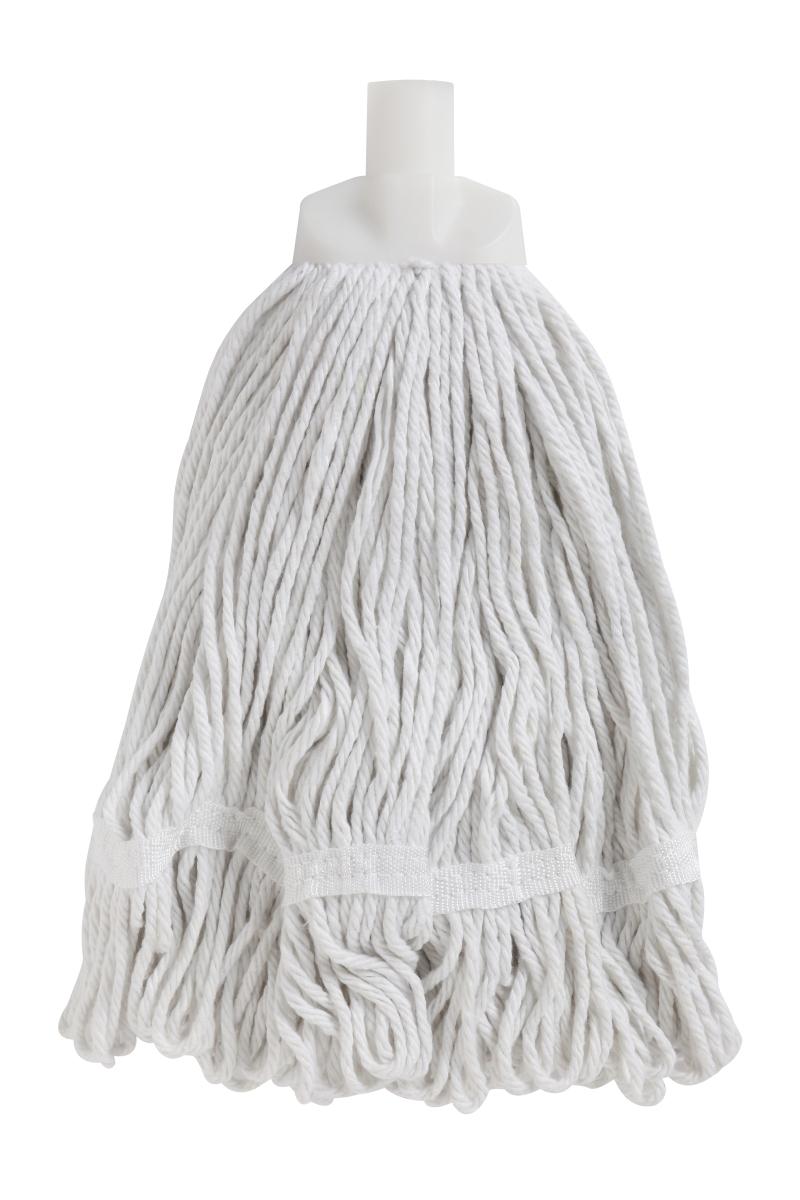 Edco Durable Round Mop WHITE - Edco