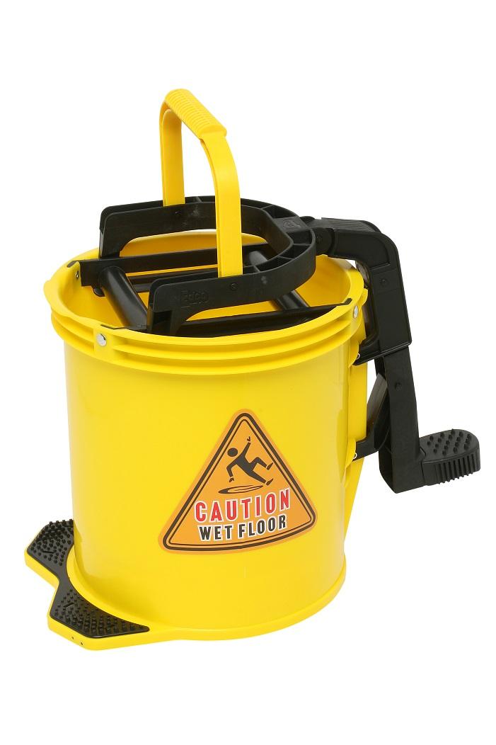 Edco Enduro Nylon Wringer Bucket - YELLOW - Edco