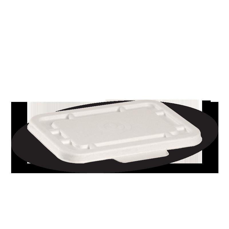 500ml & 600ml White BioCane Takeaway Lid - BioPak