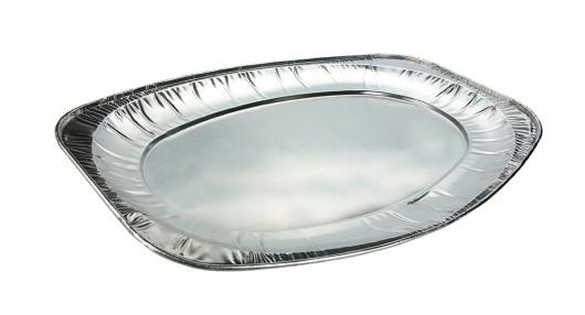 Oval Foil Platter X-Large - Retail - Uni-Foil