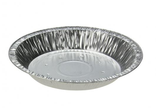 Deep Family Foil Pie Dish - Perforated - Uni-Foil