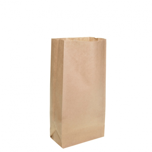 Brown Block Bottom Paper Bag No 1 Heavy Duty - UniPak