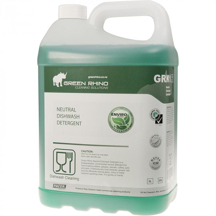 Dishwashing Detergent Neutral - Green Rhino